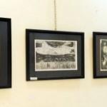 يوم إجتمع ثمانية عشر تشكيلياً وتشكيلية من تجارب فنية متنوعة وأجيال متعددة في معرض الغرافيك بصالة الشعب في دمشقعام 2017م..