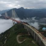 3- تفتتح أعلى جسر معلق في العالم1
