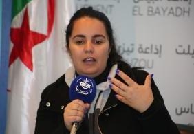المخرجة الجزائرية ياسمينة شويخ تعيش إنفصاما بين الإخراج السينمائي والكتابة ..