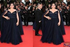 """تخطف الأنظار المخرجة اللبنانية #نادين_ لبكي..  في مهرجان """"كان"""" السينمائي.."""