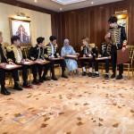 """أنهت فرقة سوبر جونيور الكورية حفلها الغنائي الأول من جولتها العالمية """"سوبر شو ٧ أس"""" في السعودية."""