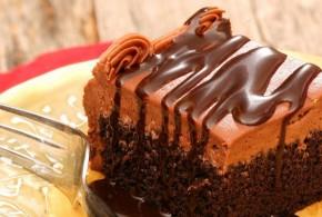 أطيب الحلويات بالشوكولاتة، كيك الشوكولاتة سهل وسريع..